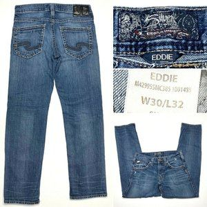 Silver Jeans EDDIE Relaxed Fit Men's Jeans